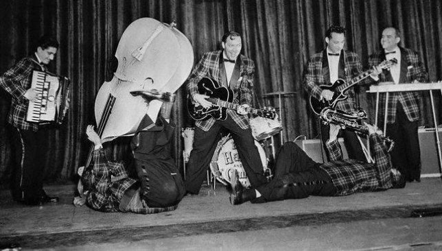 Memorie di un concerto di Bill Haley and his Comets