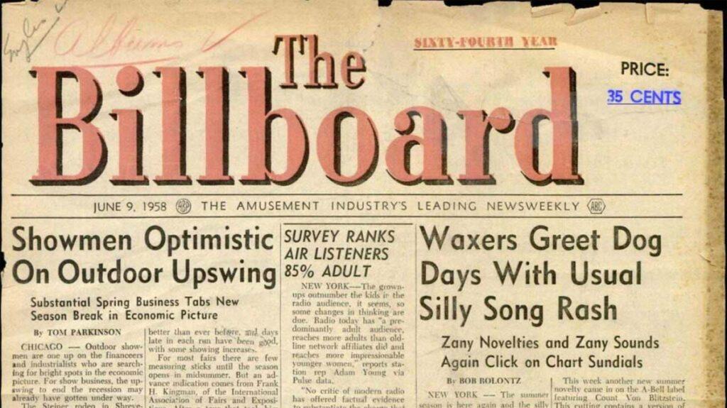 Billboard 1958